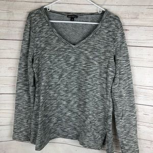 J. Crew Mercantile Gray V Neck Sweatshirt medium